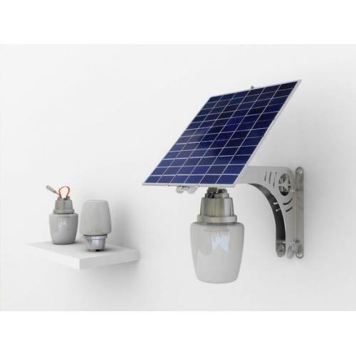 一体化太阳能苹果灯