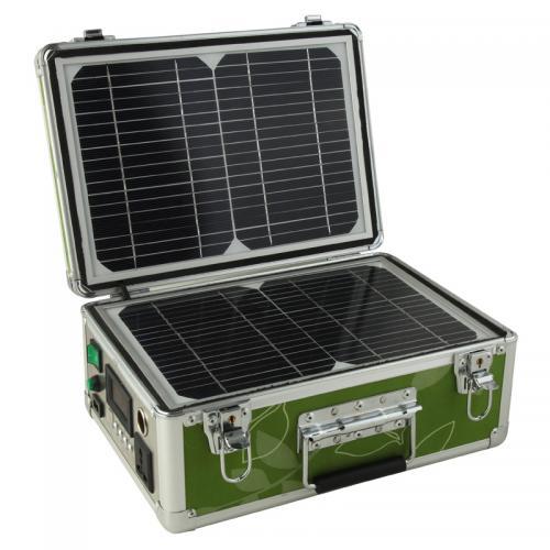 30W便携式太阳能行李箱