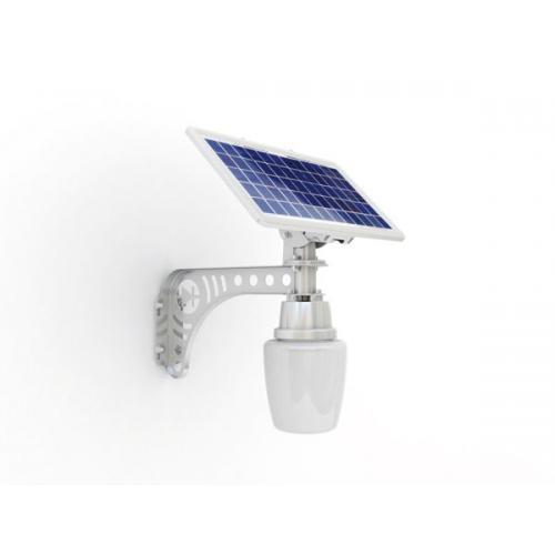 8w太阳能一体化苹果灯