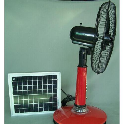 太阳能充电落地风扇