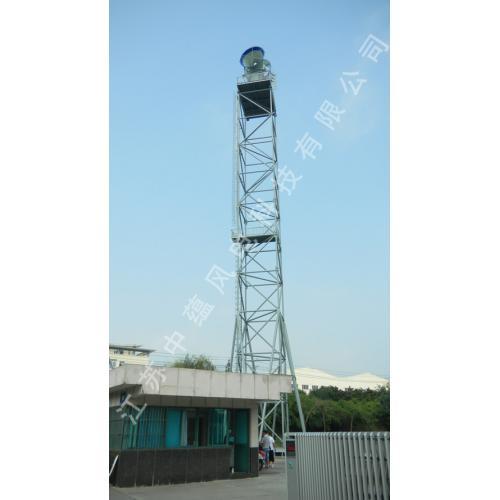 狭管聚风发电系统
