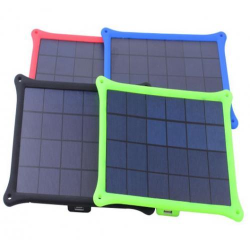 户外便携式折叠太阳能充电器
