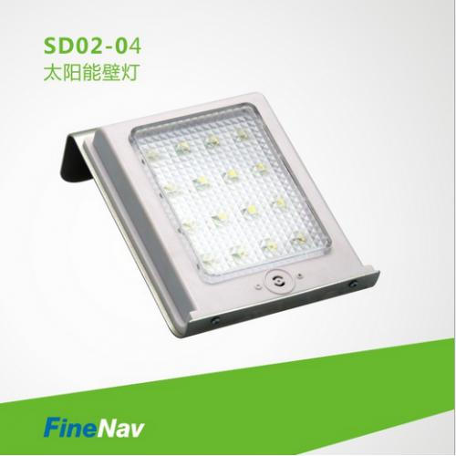 太阳能声控壁灯
