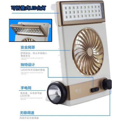 太阳能充电风扇