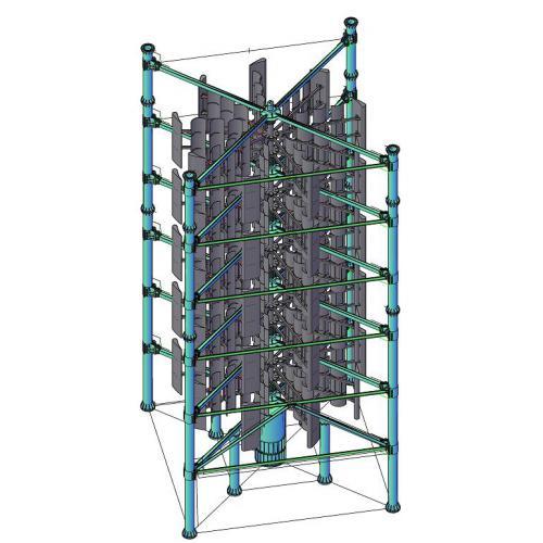 500kw垂直轴风力发电机