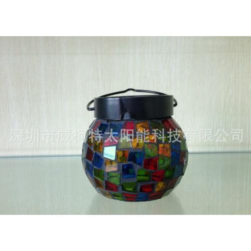 太阳能玻璃罐装饰灯