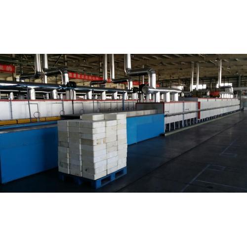 氫氮氣氛保護推板式電窯