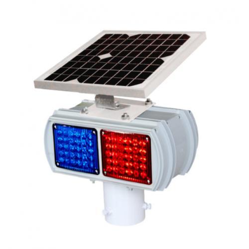 太阳能爆闪灯(2格单、双面)