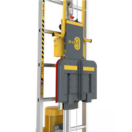 风机塔筒升降设备免爬器
