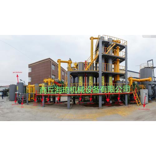 生物质热解气化发电设备