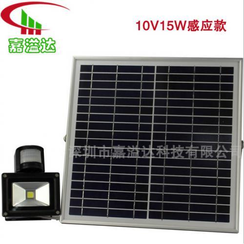 太阳能大功率感应灯