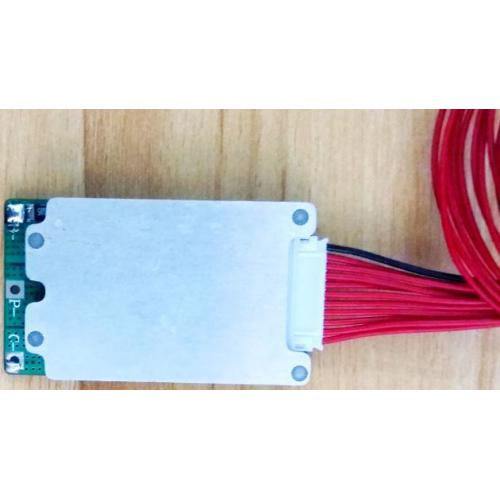 10串36V雅迪电动自行车锂电池保护板均衡分口