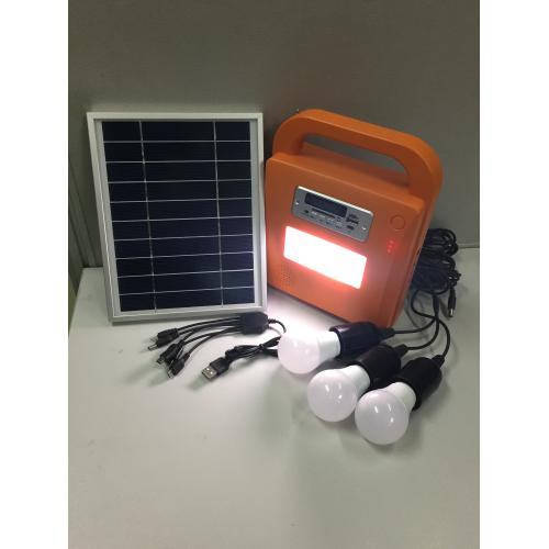 太阳能LED灯照明小系统