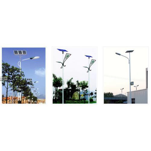 8米风光互补太阳能路灯