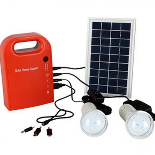 太阳能发电机LED供电系统