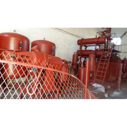 廢機油免酸洗再生基礎油工藝及設備