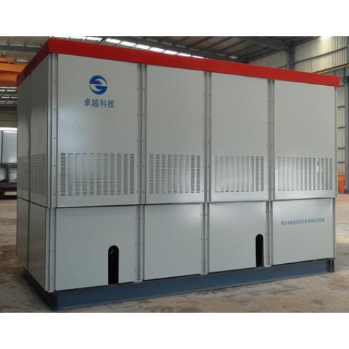 固体蓄热导热油系统