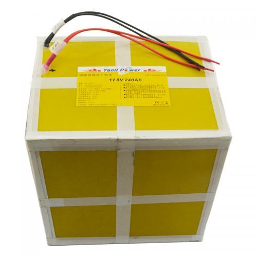 太阳能光伏设备电池12.8V 240Ah
