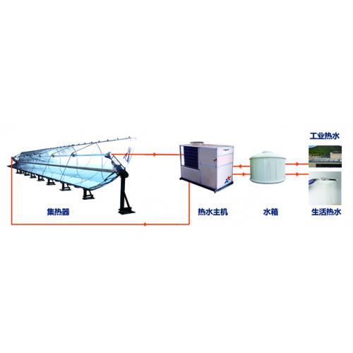 太阳能热泵中央热水系统