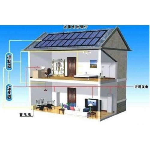 屋顶分布式光伏并网发电系统