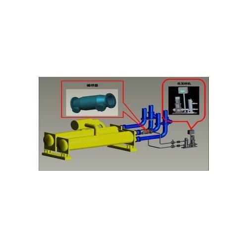 冷凝器自动胶球清洗装置