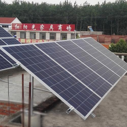 家庭分布式并网太阳能光伏发电系统