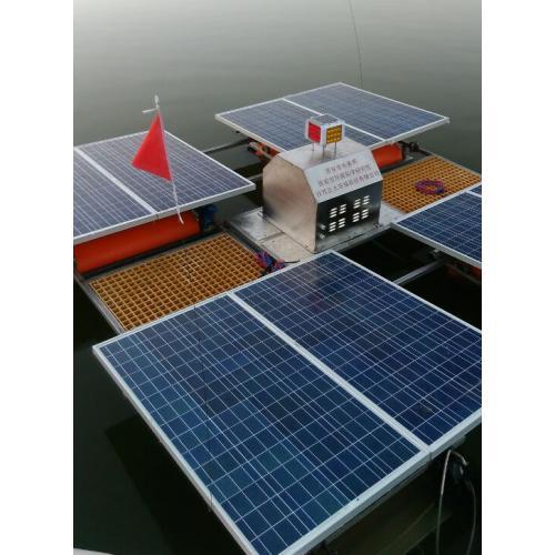 太阳能供电水生态修复治理技术
