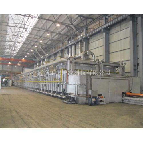 推板式磷酸铁脱水炉