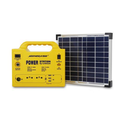 10Ah家用太阳能发电机储能系统户外移动电源