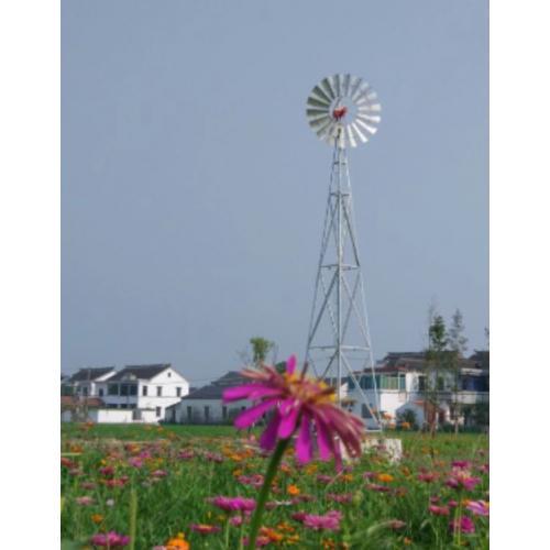 风轮直径3.8米的风力提水机