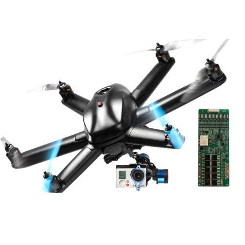 无人机/航模智能锂电池保护板