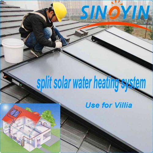 500L平板太陽能熱水系統