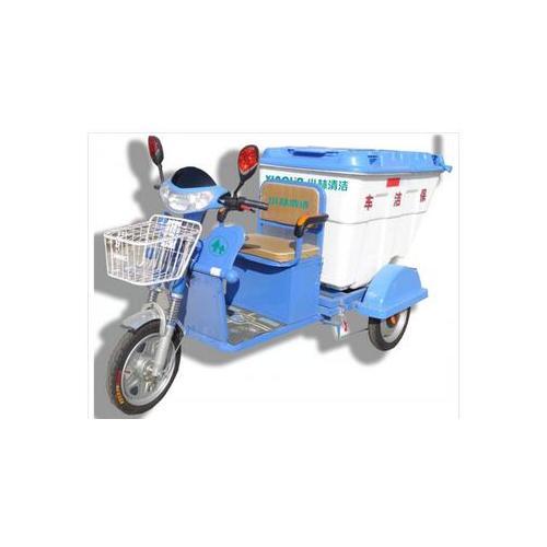 小型电动三轮保洁车