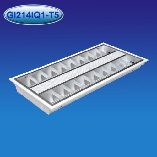 T5型嵌入式暗装LED格栅灯盘