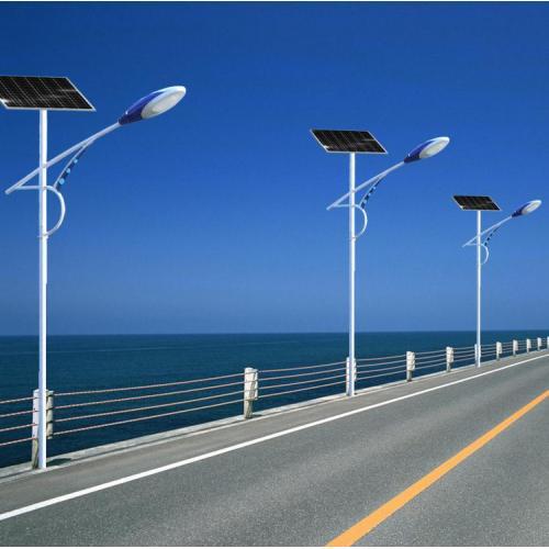LED铝制太阳能路灯100W