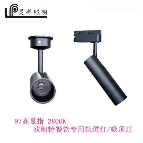 G3009-1 145MM餐饮吸顶轨道灯