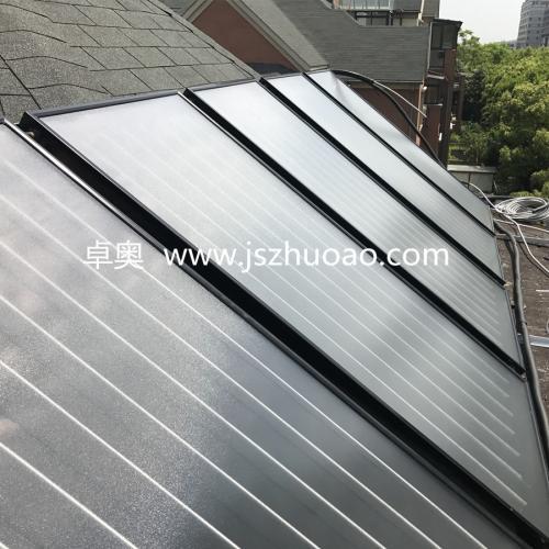 别墅区平板太阳能集热工程