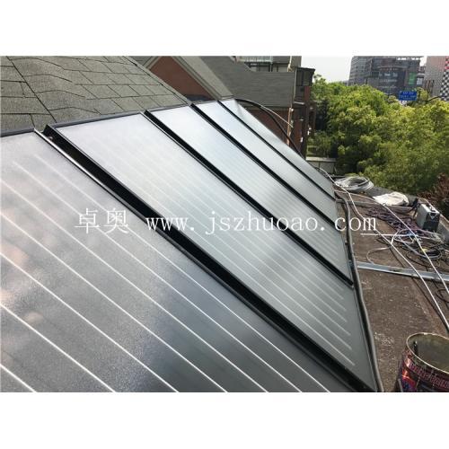 别墅区平板优发国际集热工程