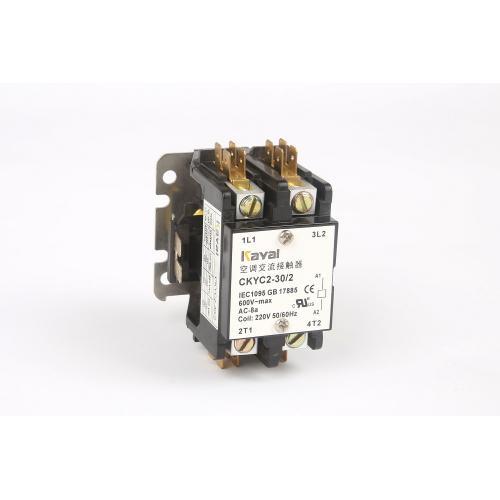 家用电器单相三相空调交流接触器30A2P