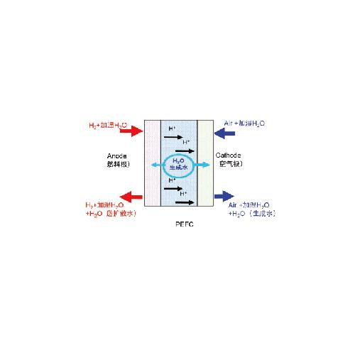 PEFC燃料电池水平衡测试系统
