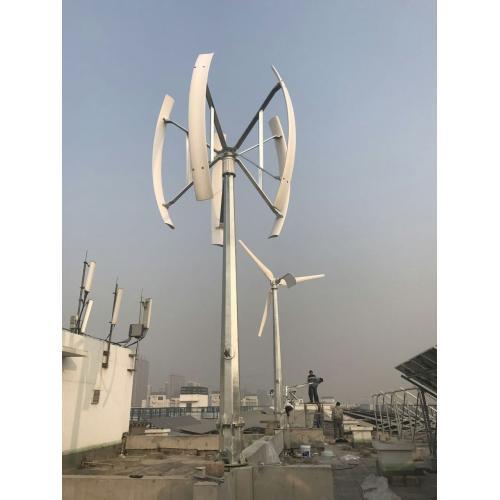 2000w垂直轴风力发电机组风光互补发电系统