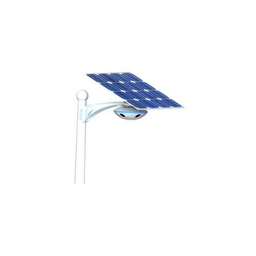 太阳能安防照明一体灯
