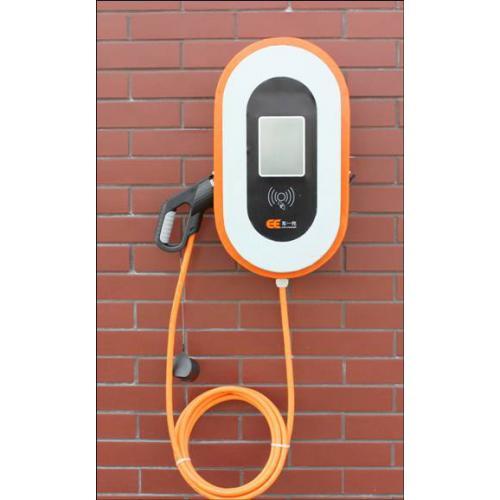 电动新能源汽车挂壁式交流充电桩单