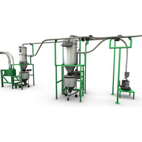 供应锂电专业输送解决方案-真空输送机