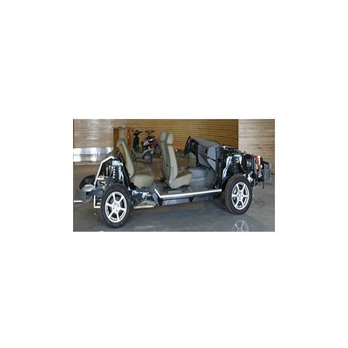 电混合燃料电池轿车动力系统平台