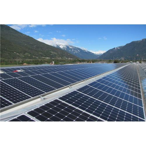 自家屋顶安装太阳能发电并网系统