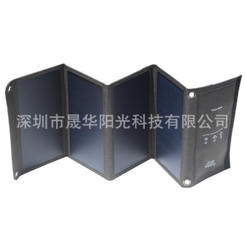 太阳能充电折叠包