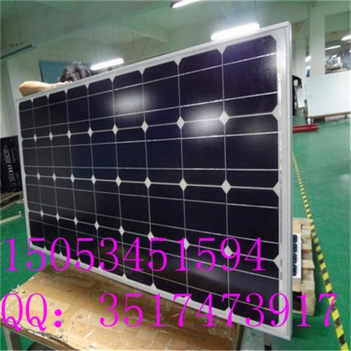 單晶太陽能電池板100瓦