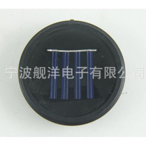 圆形太阳能滴胶件