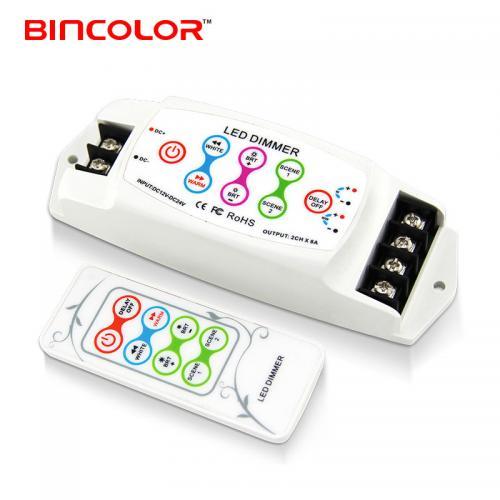 LED冷暖白双色温灯条控制器